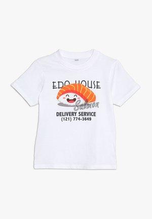KIDS EDO HOUSE TEE - Print T-shirt - weiß