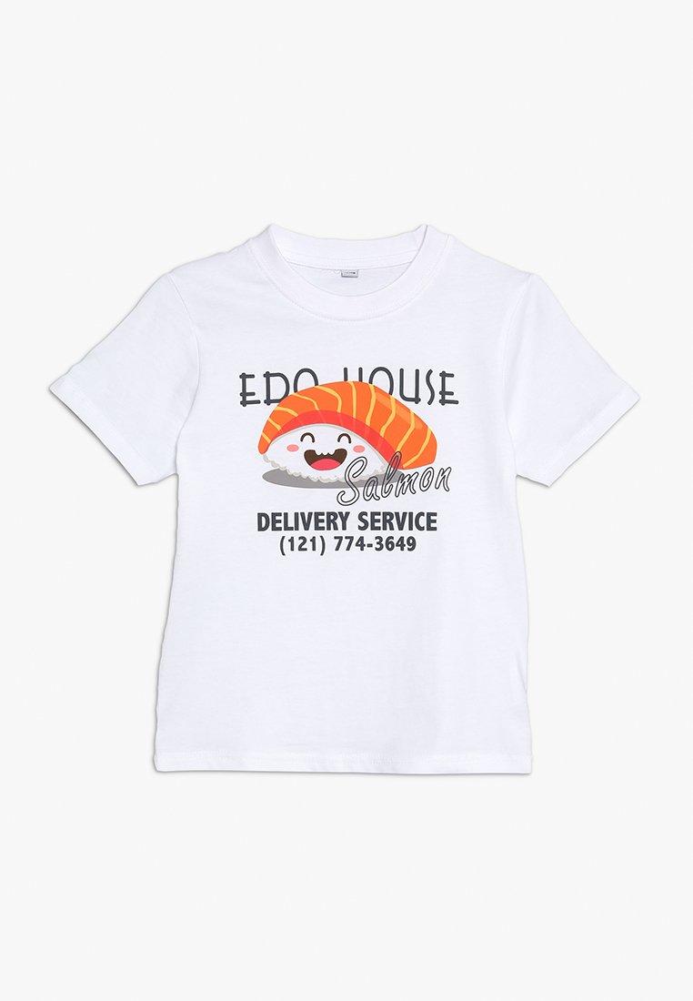 Mister Tee - KIDS EDO HOUSE TEE - Camiseta estampada - weiß