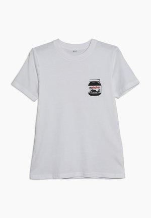 KIDS TEE - T-shirt imprimé - weiß