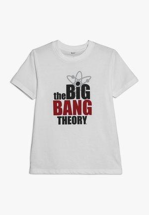 KIDS BASIC TEE BIG BANG THEORY - Print T-shirt - white