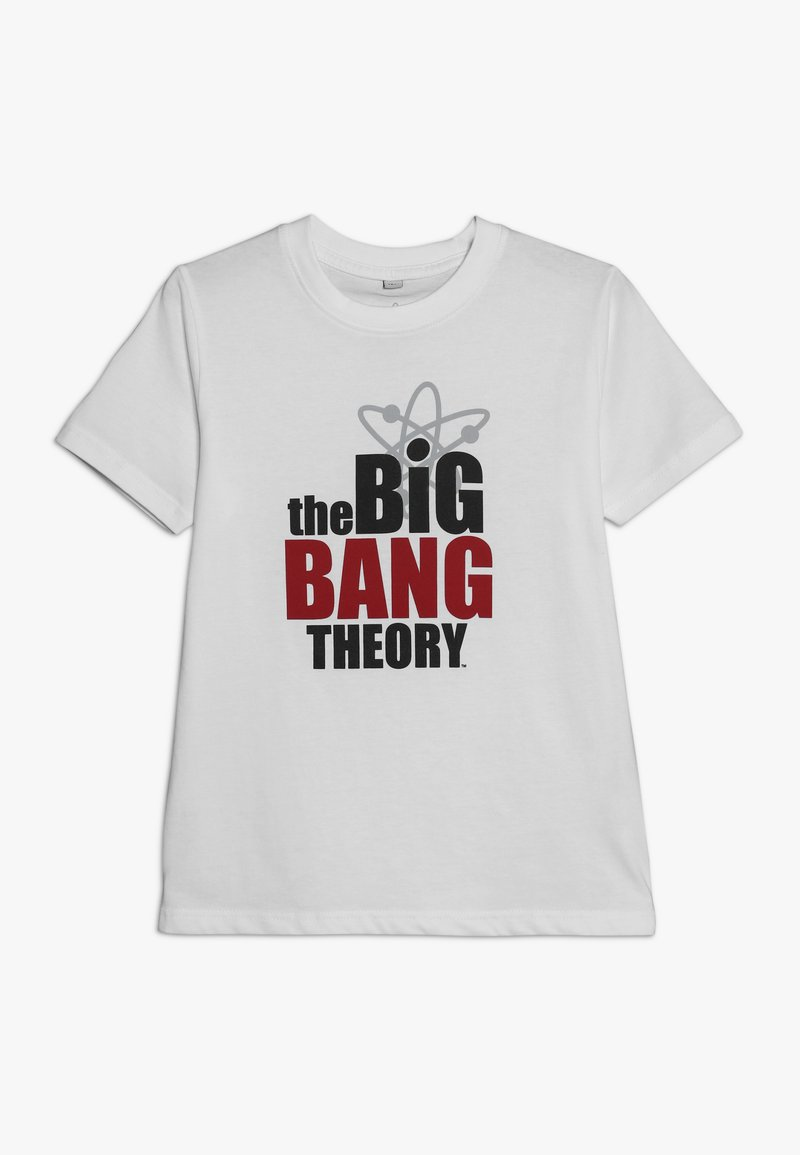 Mister Tee - KIDS BASIC TEE BIG BANG THEORY - Printtipaita - white
