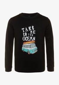 Mister Tee - KIDS TAKE ME TO THE OCEAN LONGSLEEVE - Camiseta de manga larga - black - 0