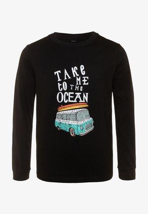 KIDS TAKE ME TO THE OCEAN LONGSLEEVE - T-shirt à manches longues - black