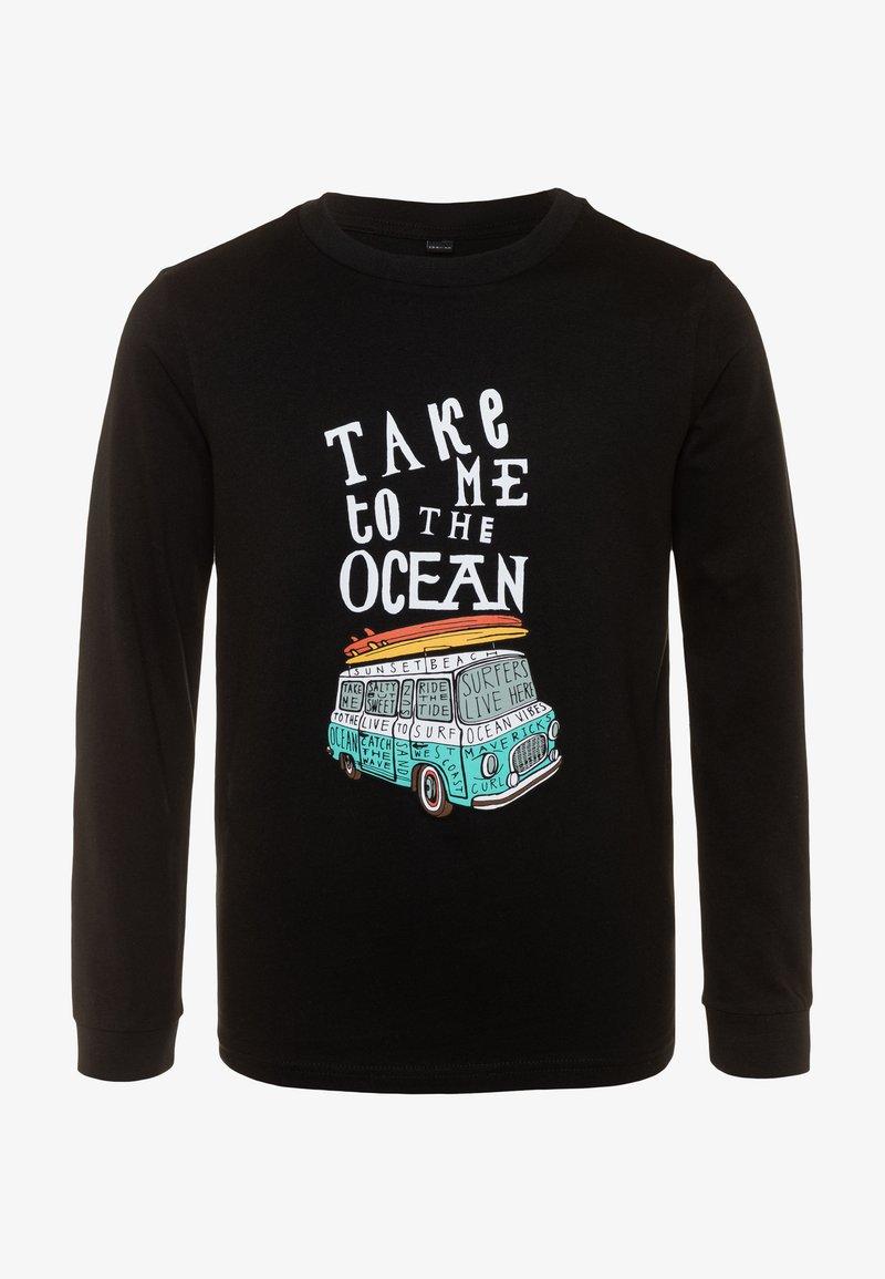 Mister Tee - KIDS TAKE ME TO THE OCEAN LONGSLEEVE - Camiseta de manga larga - black
