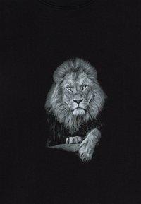 Mister Tee - KIDS LION - T-shirt imprimé - black - 3
