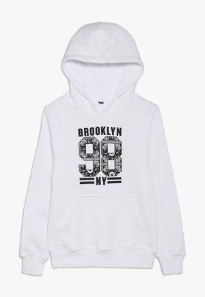 KIDS BROOKLYN 98 HOODY - Hoodie - weiß