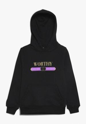KIDS WORTHY HOODY - Hoodie - schwarz