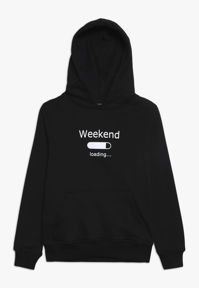 KIDS WEEKEND LOADING HOODY - Kapuzenpullover - schwarz
