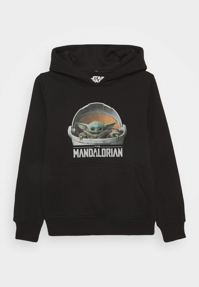 KIDS THE MANDALORIAN THE CHILD POD HOODY - Kapuzenpullover - black
