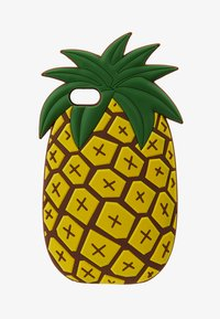 Mister Tee - PHONECASE PINEAPPLE I PHONE 6/7/8 - Handytasche - yellow - 1