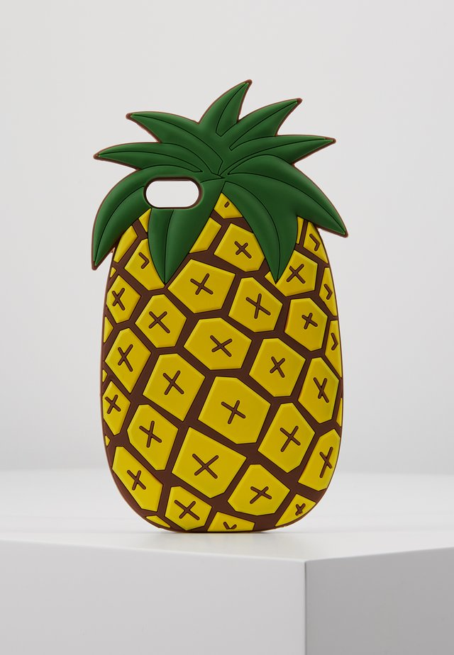 PHONECASE PINEAPPLE I PHONE 6/7/8 - Kännykkäpussi - yellow