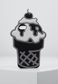 Mister Tee - PHONECASE ICECREAM I PHONE 6/7/8 - Handytasche - black/white - 0