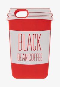 Mister Tee - PHONECASE COFFE CUP I PHONE 6/7/8 - Obal na telefon - red/white - 1
