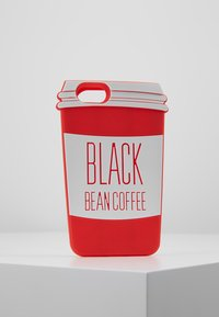 Mister Tee - PHONECASE COFFE CUP I PHONE 6/7/8 - Handytasche - red/white - 0