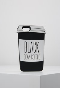 Mister Tee - PHONECASE COFFE CUP I PHONE 6/7/8 - Handytasche - black/white - 0