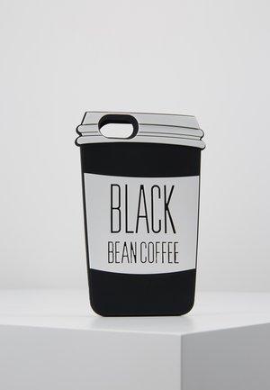 PHONECASE COFFE CUP I PHONE 6/7/8 - Obal na telefon - black/white