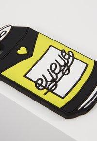 Mister Tee - PHONECASE CAN / I PHONE 6/7/8 - Obal na telefon - black/white/neon yellow - 2