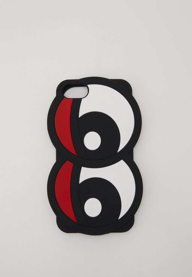 PHONECASE LOBSTER  - Kännykkäpussi - black/white/red