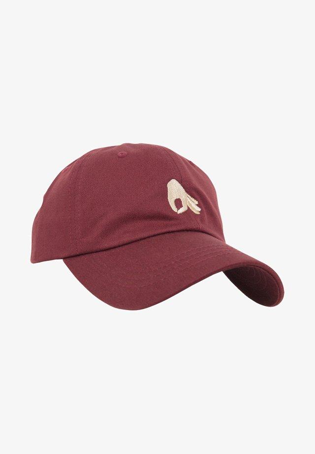 Cap - maroon