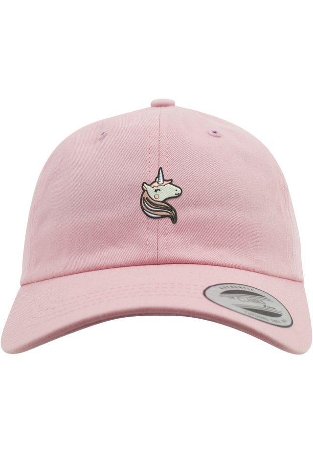 MISTER TEE HERREN LADIES UNICORN DAD CAP - Cap - pink