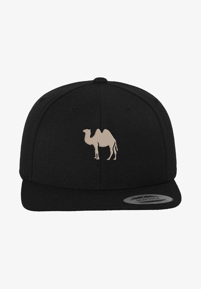 DESERT CAMEL - Cap - black