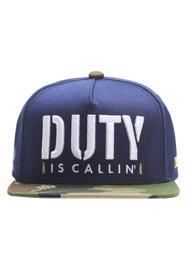 MISTER TEE CAP IS CALLIN' CAP - Pet - navy/woodland/white