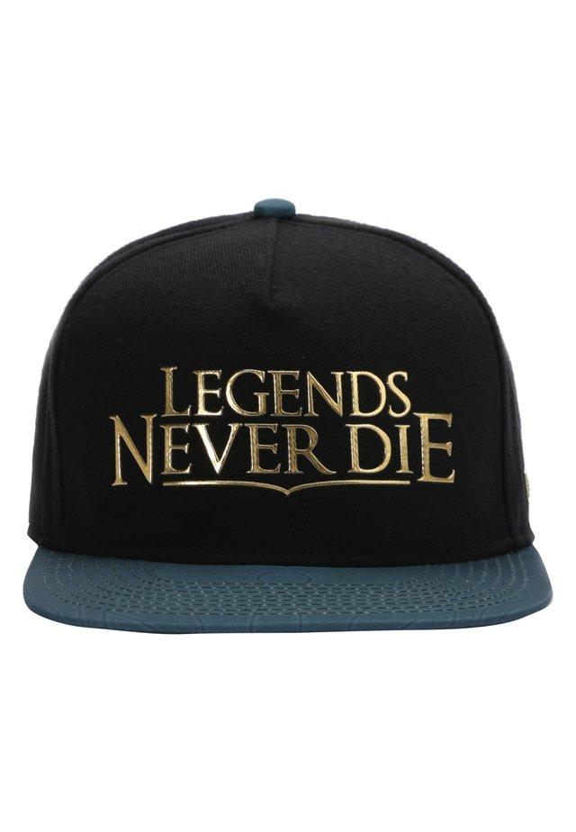 MISTER TEE CAP LEGENDS CAP - Pet - black