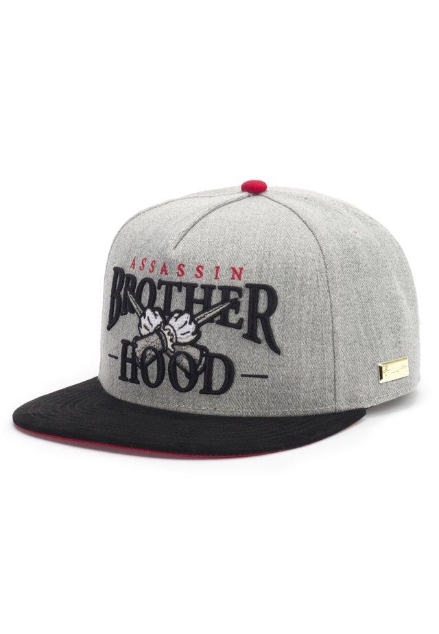 MISTER TEE CAP BROTHERHOOD CAP - Pet - grey