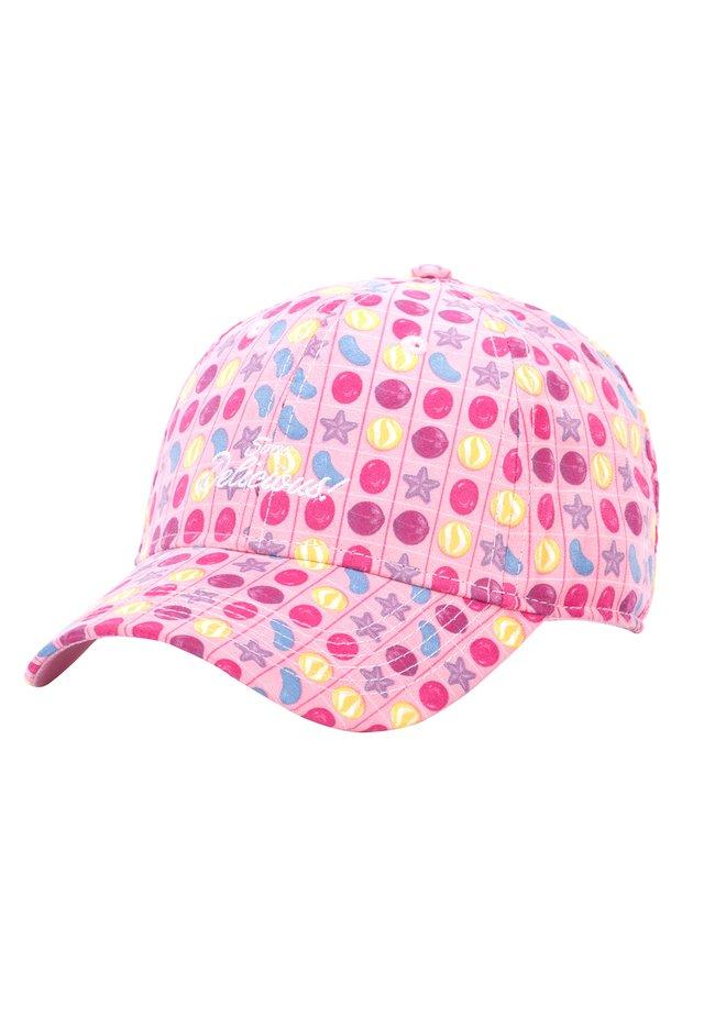 MISTER TEE CAP HOG SOO DELICIOUS CURVED CAP - Pet - pink/mc