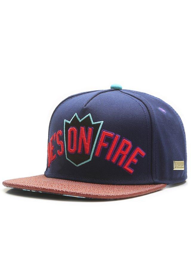 MISTER TEE CAP ON FIRE CAP - Pet - navy/mc