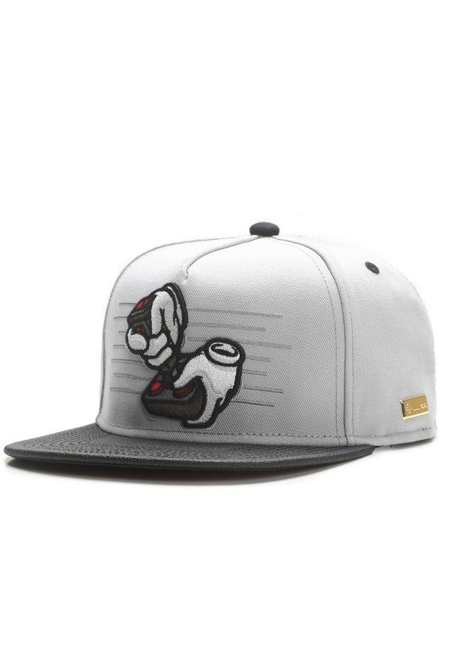 MISTER TEE CAP OL' SCHOOL CAP - Cap - grey/black/mc