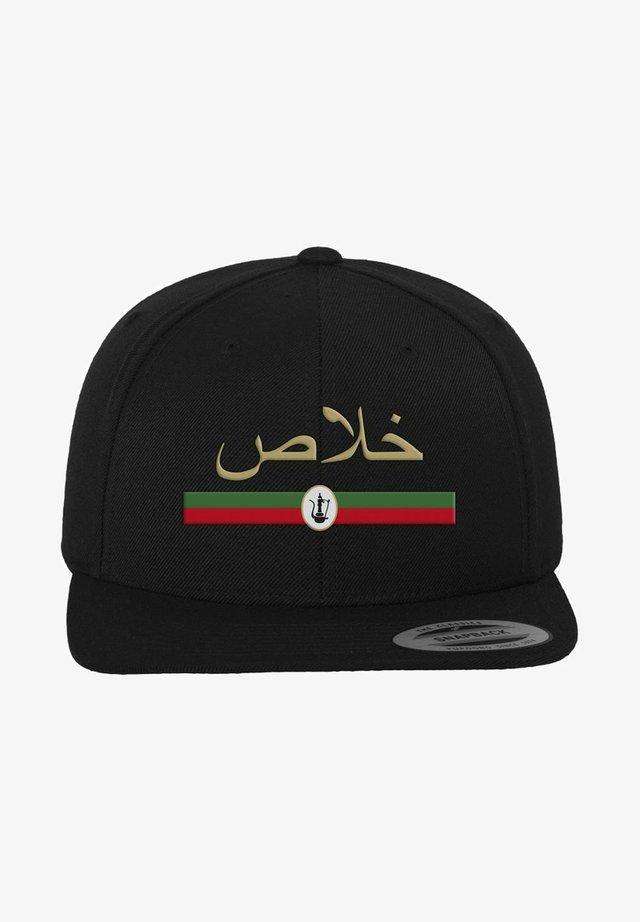 KHALAS - Cap - black
