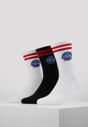 NASA INSIGNIA 3 PACK - Sukat - white/black/white