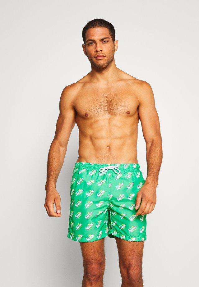 SPRITE - Swimming shorts - green
