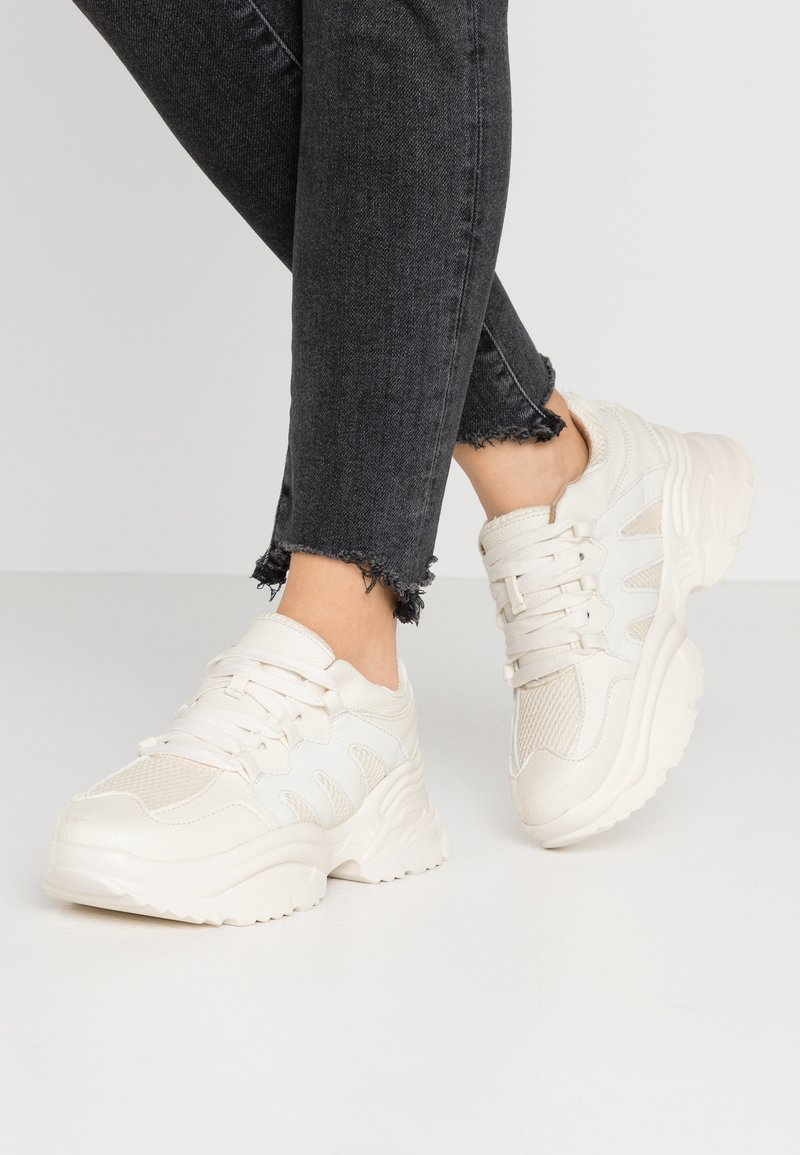 Missguided - WAVE TRAINER - Baskets basses - reflective