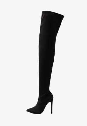 STILETTO HEEL BOOT - Korolliset saappaat - black