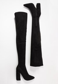 Missguided - BLOCK BOOT - High heeled boots - black - 3