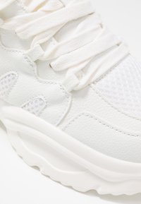 Missguided - WAVE TRAINER - Sneakers laag - white - 2
