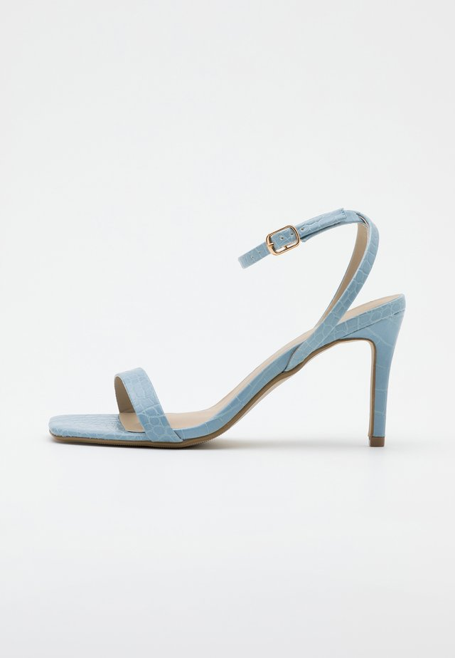 MID BARELY THERE FLOW - High heeled sandals - blue