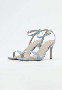Missguided - MID BARELY THERE FLOW - High heeled sandals - blue - 2