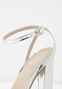 Missguided - ENTRY BLOCK - High heeled sandals - silver - 2