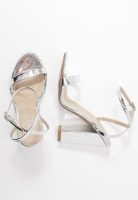 Missguided - ENTRY BLOCK - High heeled sandals - silver - 3