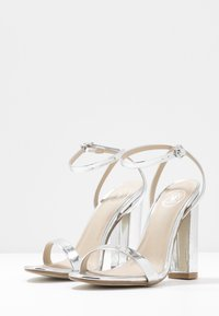 Missguided - ENTRY BLOCK - High heeled sandals - silver - 4