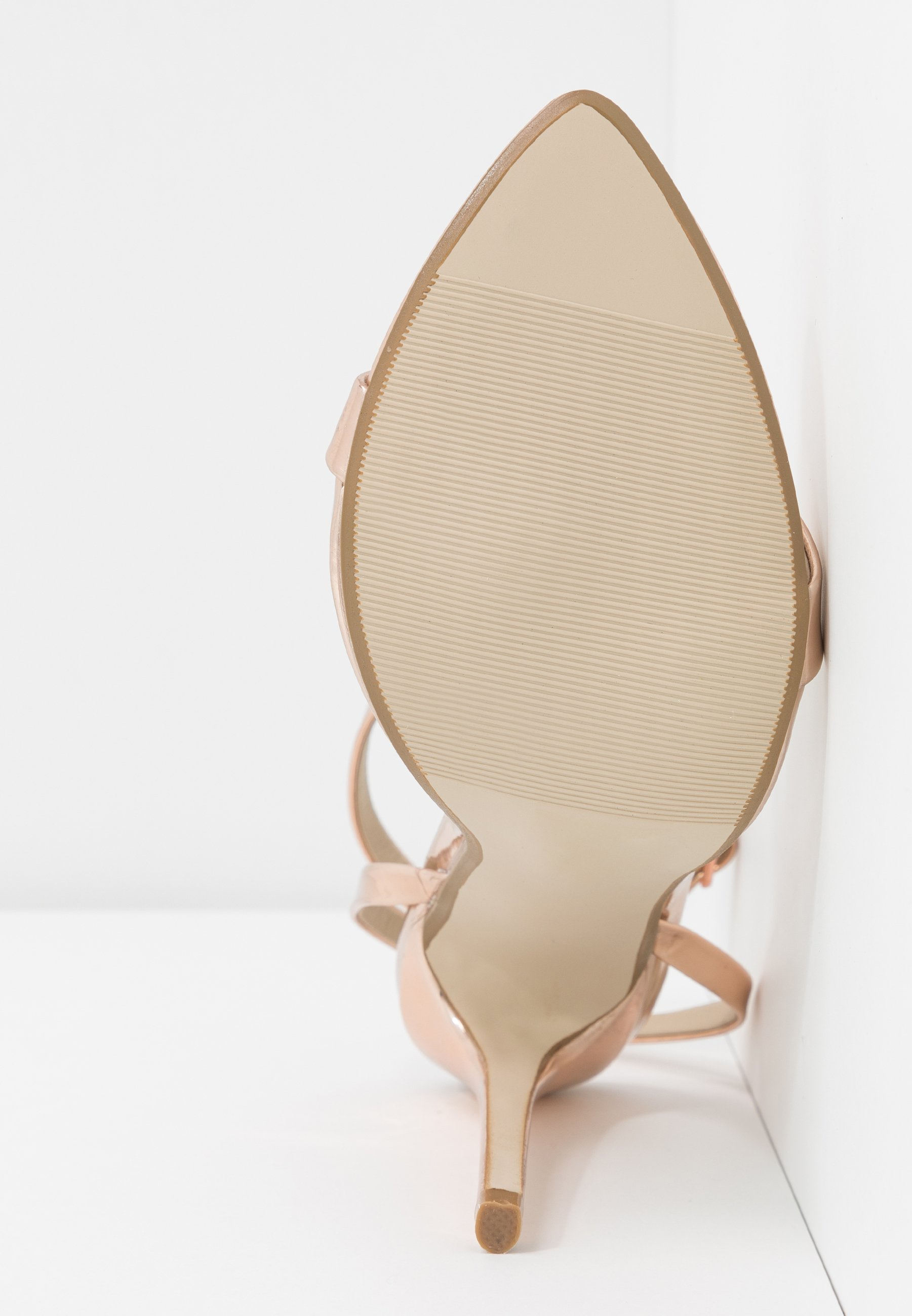 Missguided Pointed Toe Barely - Sandaletter Rose Gold