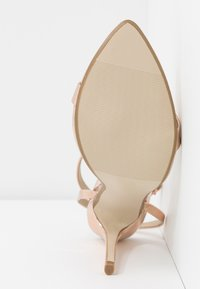 Missguided - POINTED TOE BARELY  - High heeled sandals - rose gold - 6
