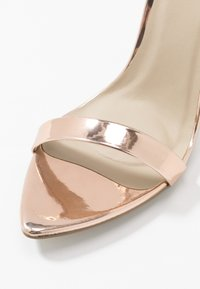 Missguided - POINTED TOE BARELY  - High heeled sandals - rose gold - 2