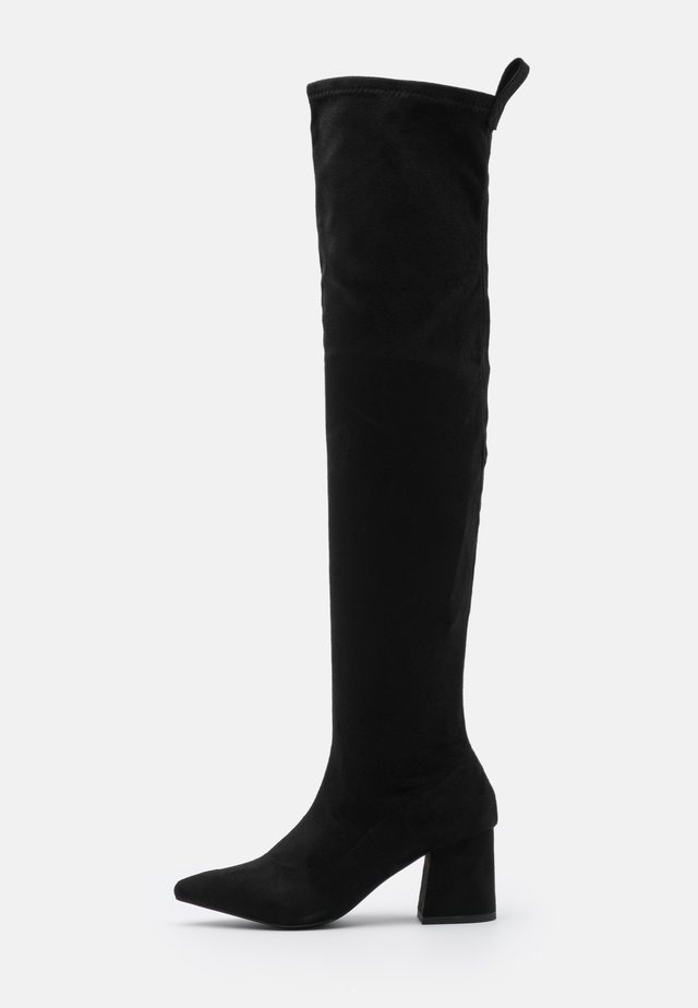 BOOT - Høye støvler - black