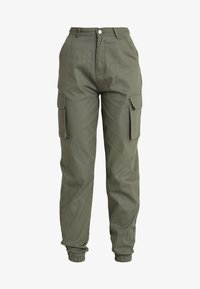 Missguided - PLAIN CARGO TROUSER - Pantalon cargo - khaki - 3