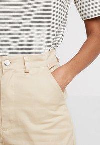 Missguided - UTILITY TROUSER - Pantalon classique - sand - 3