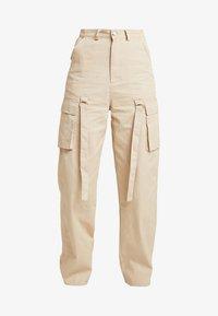 Missguided - UTILITY TROUSER - Pantalon classique - sand - 4